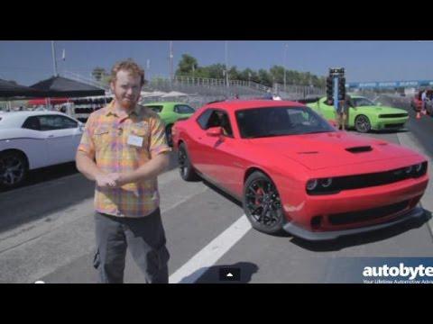 Dodge Challenger Srt Hellcat Track Test Drive Modern Muscle Car Video Review  Hp Hemi Youtube