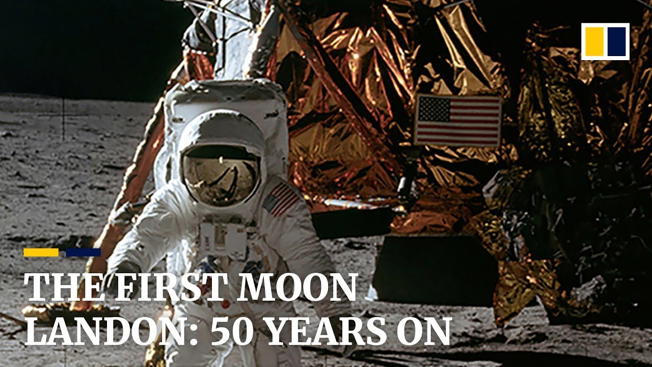 The first moon landing: 50 years on - YouTube