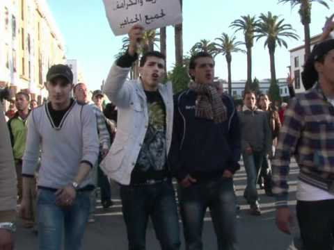 Moroccan government pledges in face of growing protests
