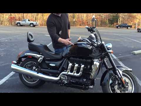 All About the Triumph Rocket  Roadster