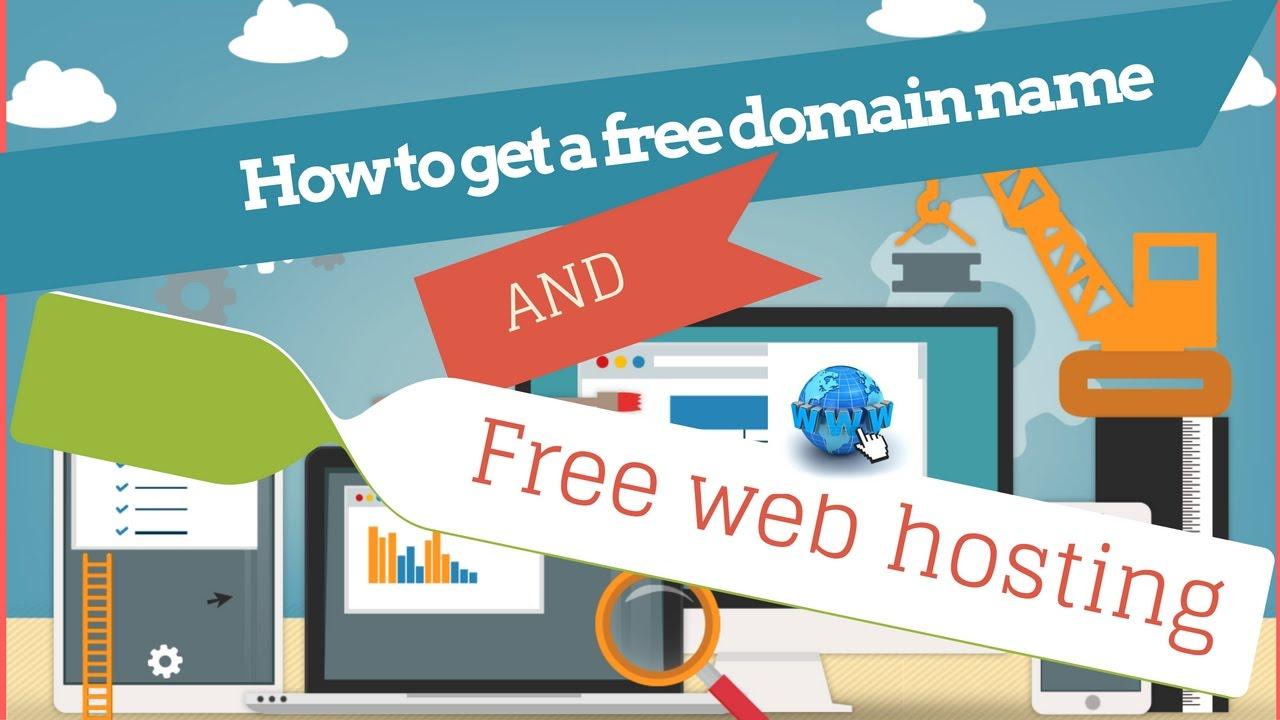 free domain name and free web hosting