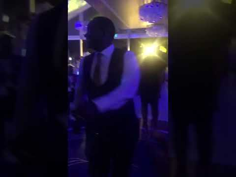 Download NbsTV,s CEO Kin Kariisa shows serious dance moves at Canary and Sasha's wedding