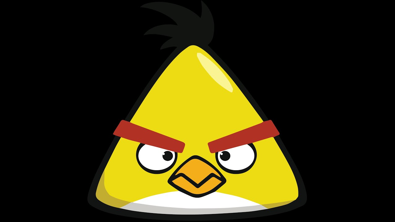 Drawing Angry Birds Yellow Angry Birds
