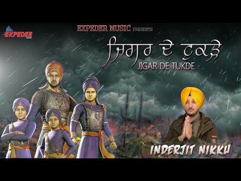 Jigar De Tukde - Inderjit Nikku | Official Music Video | Dharmik Song 2018 | Expeder Music