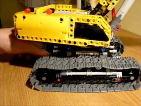 lego technic 42006 replica by dokludi youtube. Black Bedroom Furniture Sets. Home Design Ideas