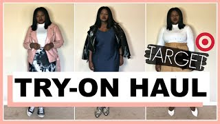 TARGET FALL 2019 CLOTHING TRY ON HAUL + OUTFITS 🛍️ CURVY PLUS SIZE FASHION