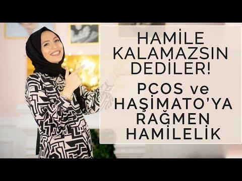 Hamile Kalamazsın! Dediler Pcos Ve Hashimoto'ya Rağmen Hamilelik  Merve Bilge Atalay