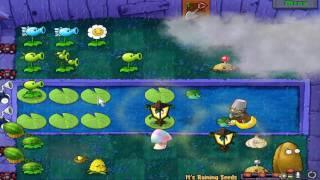 Plants vs. Zombies | Mini Games: it's raining seeds