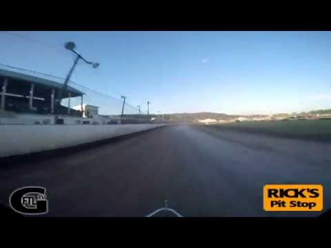 Dustin Purdy @ Fonda Speedway - CRSA Sprint Cars - Heat Race 7/2/16 - GoPro