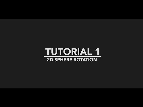 2D Sphere Rotation -- After Effects Tutorial (#1)