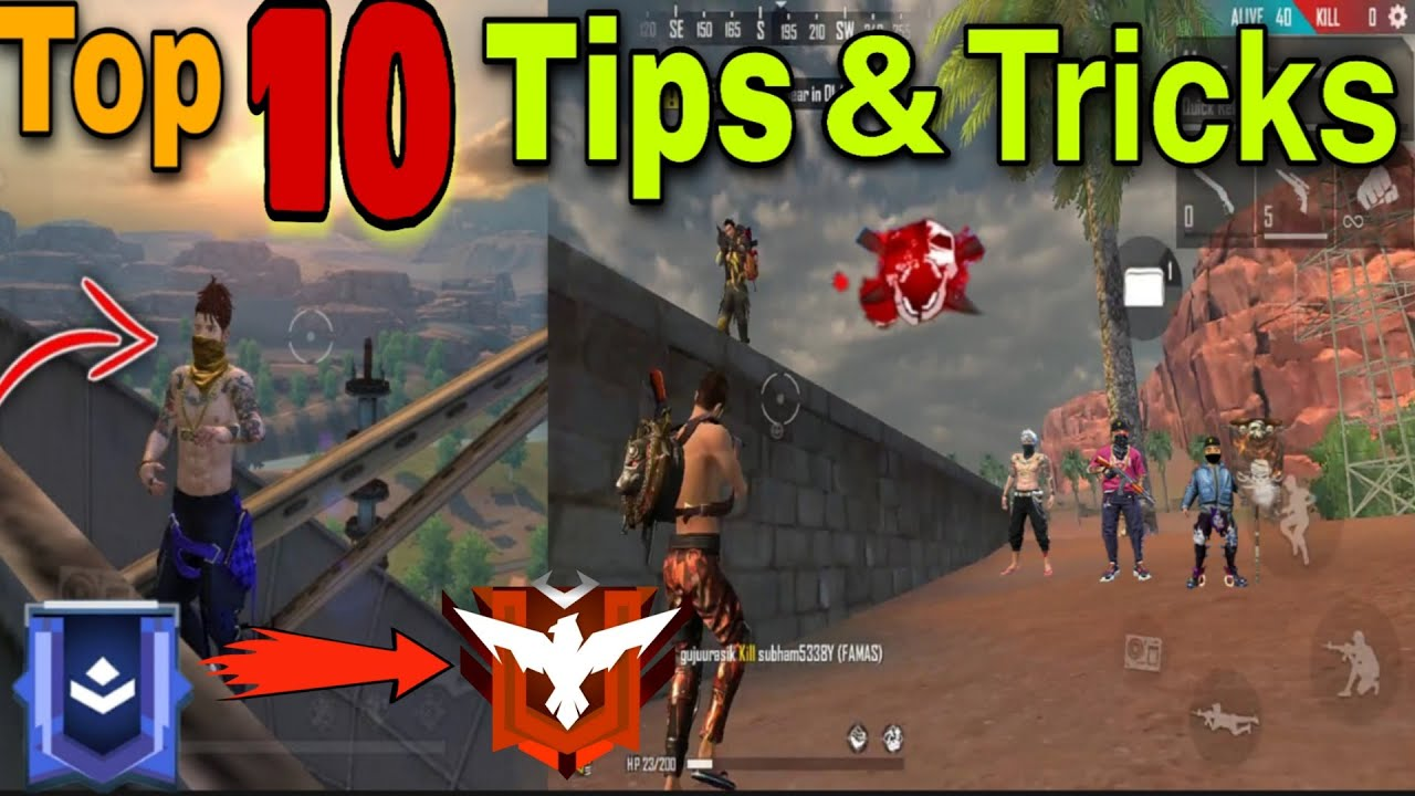Top 10 {NOOB TO PRO} TIPS AND TRICKS IN KALAHARI MAP || EVERY MATCH BOOYAH