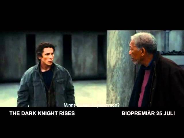 THE DARK KNIGHT RISES - Biopremiär 25 juli. Tv-spot 1