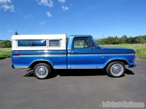 Very Original 1973 Ford F100 Ranger Pickup