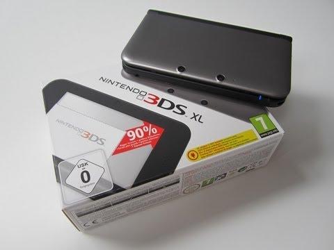 Nintendo 3DS XL : présentation de la console de NINTENDO !