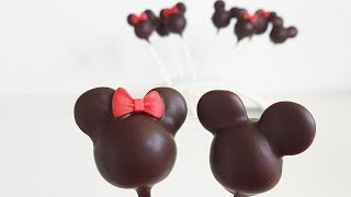 Gambar cover Einfache Minnie & Micky Maus Cake Pops / Minnie & Mickey Mouse Cake Pops