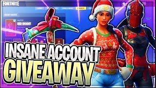 🔴 GIFTING SUBSCRIBER FREE FORTNITE STACK ACCOUNTS!