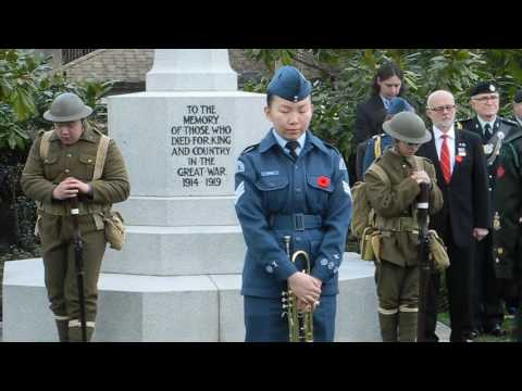 100th Anniversary Vimy Ridge _ Last Post, 1-minute Silence, Lament, Rouse _
