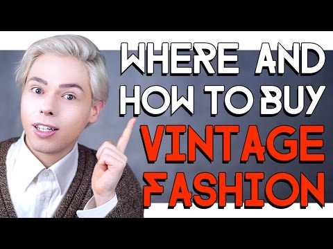 WHERE AND HOW TO BUY VINTAGE FASHION AND FRAGRANCES