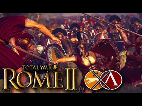 Elite Spartan Warriors Make Their Last Stand - Total War Rome 2