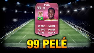 One of EzekielGamingHD's most viewed videos: FIFA 15 - 99 RATED PELÉ