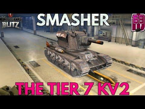 Wotb: SMASHER | The tier 7 KV2