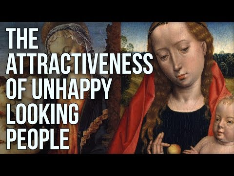 The Attractiveness of Unhappy Looking People