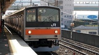 2018/02/19 武蔵野線 205系 M17編成 西浦和駅 thumbnail