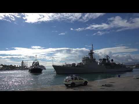 Spanish Navy in Málaga, Spain. (Naval Armada)