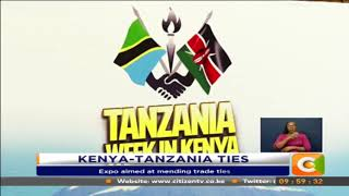 Tanzanian business expo begins in Nairobi