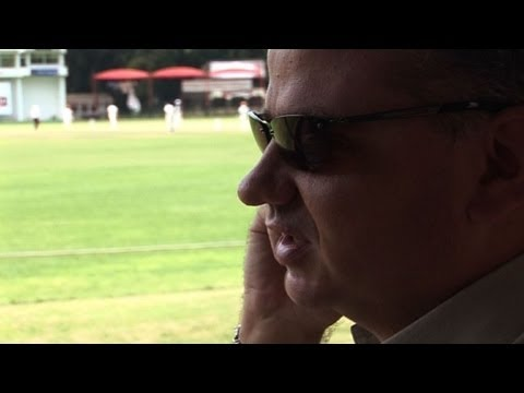 Zimbabwe's blind cricket commentator