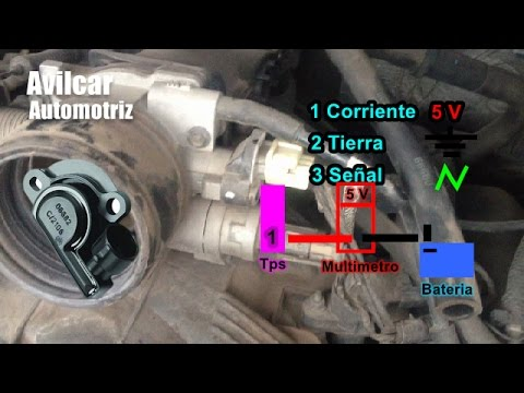 Sensor De Aceleramiento o Sensor Tps Throttle Body Avilcar