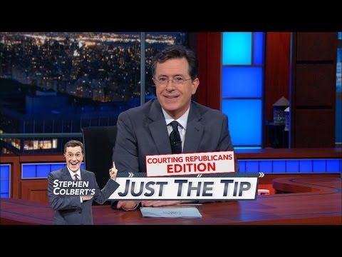 Stephen Colbert Has Advice for Hillary on How to Court Republicans