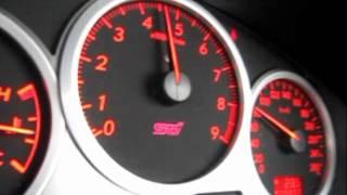 インプレッサのフル加速。70~230km/hまで。