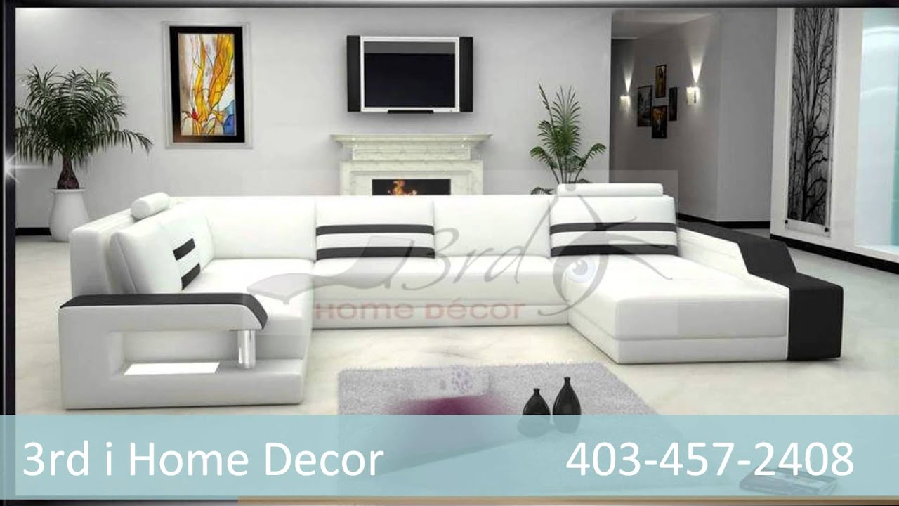 3rd i home decor contemporary couches and sectionals nw calgary - Home Decor Calgary