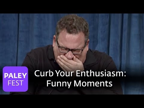 Curb Your Enthusiasm  Funny Moments On Set