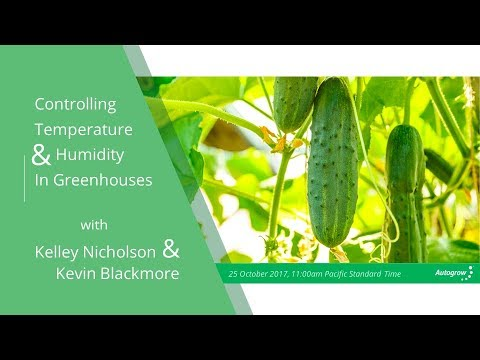 Controlling Temperature and Humidity in Greenhouses