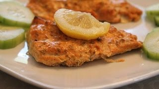 Easy Indian Recipes - Spicy Yogurt Baked Salmon