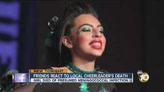 Video Students, cheer community react to local cheerleader's death download MP3, 3GP, MP4, WEBM, AVI, FLV Agustus 2017