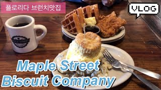 [Vlog] 플로리다 브런치먹방/ Maple Stree…