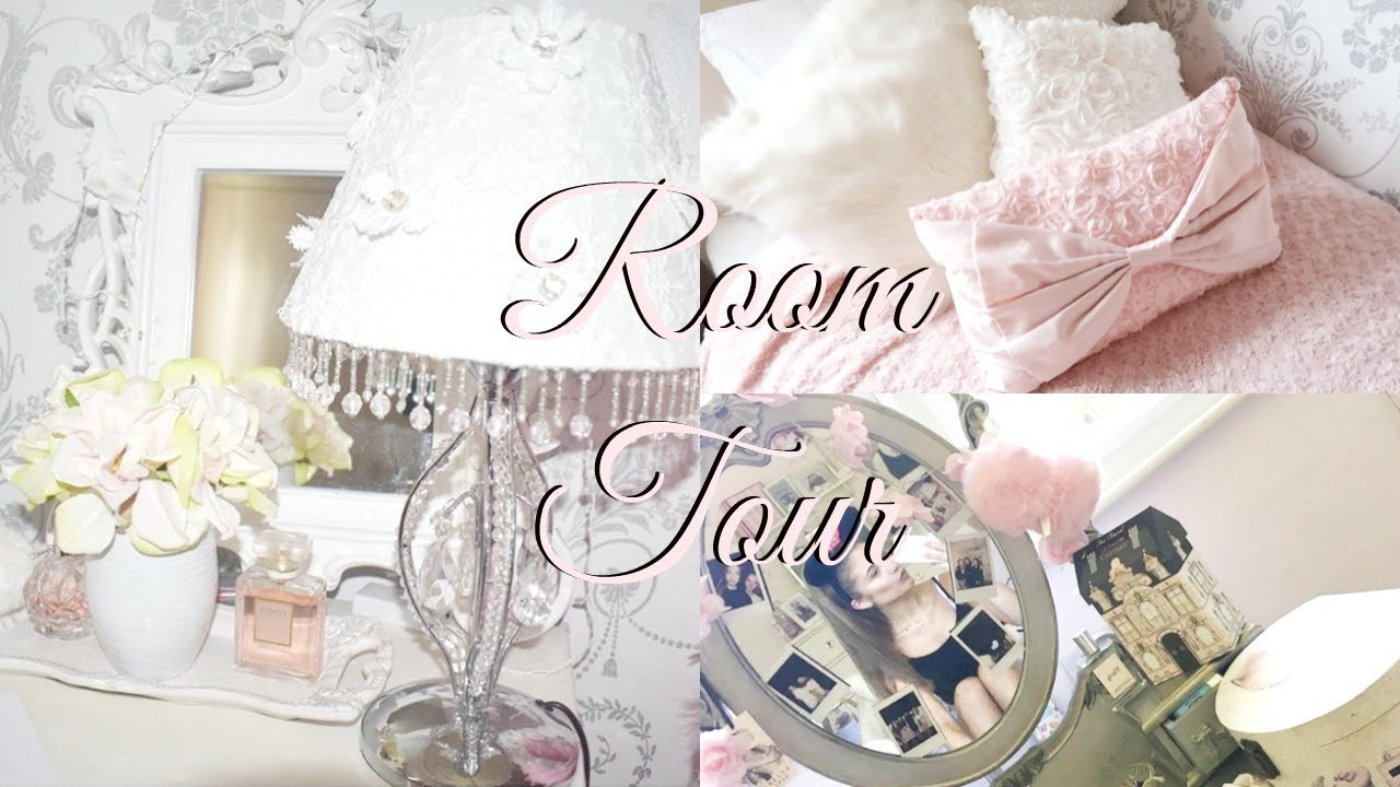 ROOM TOUR!; girly, shabby chic & vintage ♡