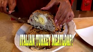 Italian Turkey Meatloaf!