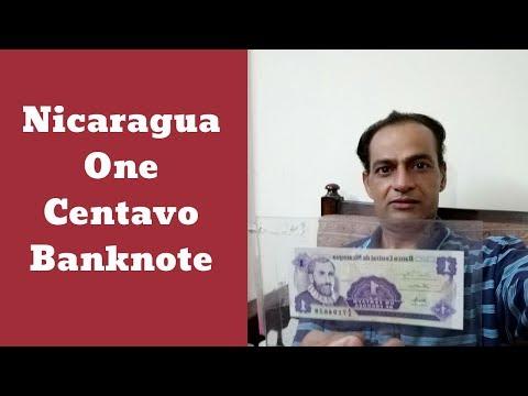 Nicaragua Banknote #1 Centavo de Cordoba   Asim Nawaz Channel