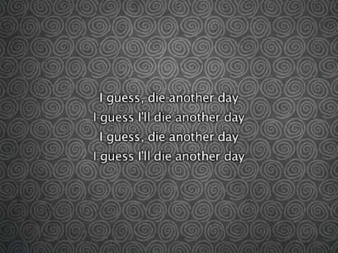 Madonna - Die Another Day, Lyrics In Video