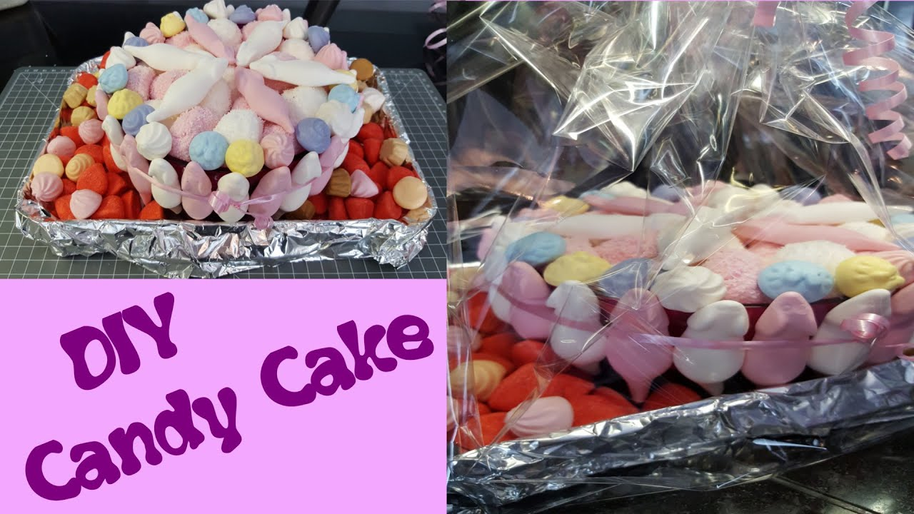 Haribo Tortecandy Cakegeschenk Ideediy In 10 Min Für Ca7