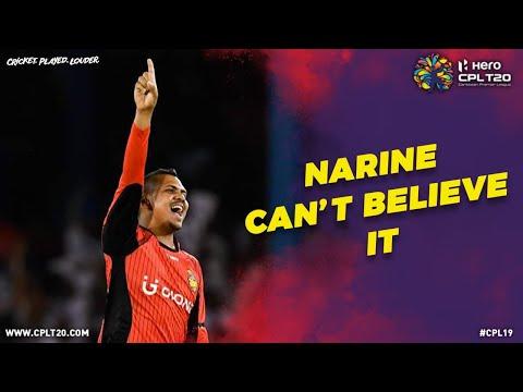 Sunil Narine can't believe it