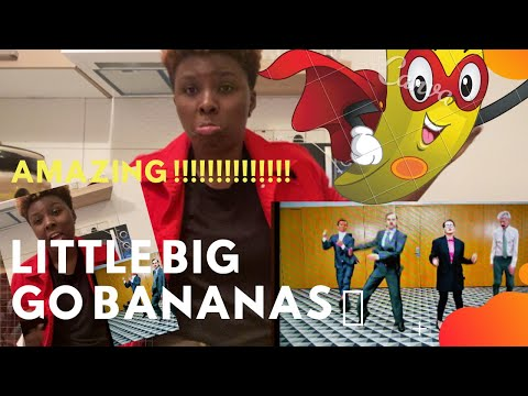 🇷🇺 Little Big - Go Bananas | Reaction Video 🎉 |