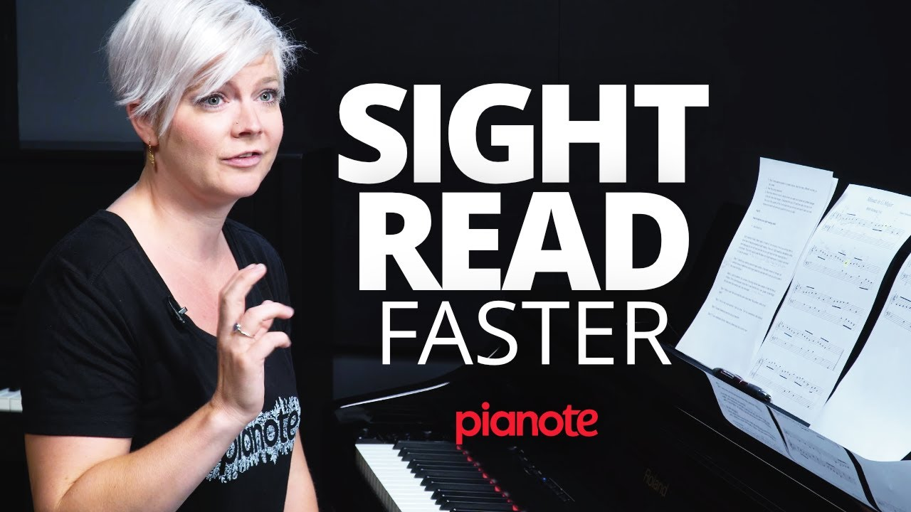 How To Read Music Faster (Piano Lesson)