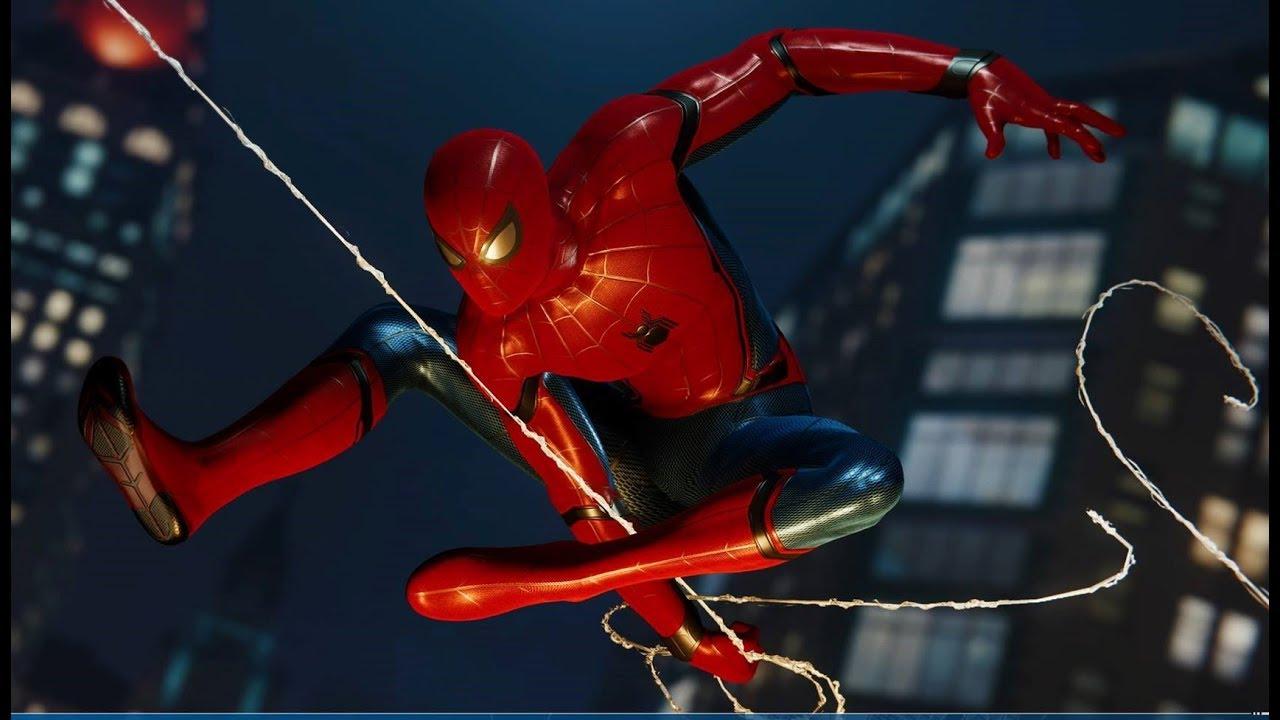 Marvel S Spider Man Ps4 Asi Es El Traje Stark El De Civil War Youtube