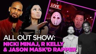 Nicki Minaj, R Kelly & Stupid Mixtape Promotion