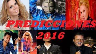 Repeat youtube video PREDICCIONES PARA 2016!! Famosos ,  Deportes, Mhoni, Astrologos ETc, Reportaje Especial
